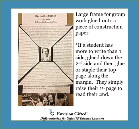 Frames of Knowledge Group Work Example