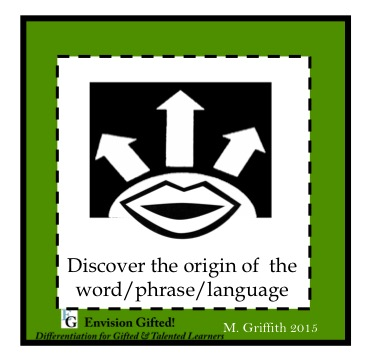 Envision Gifted. Origin of Language