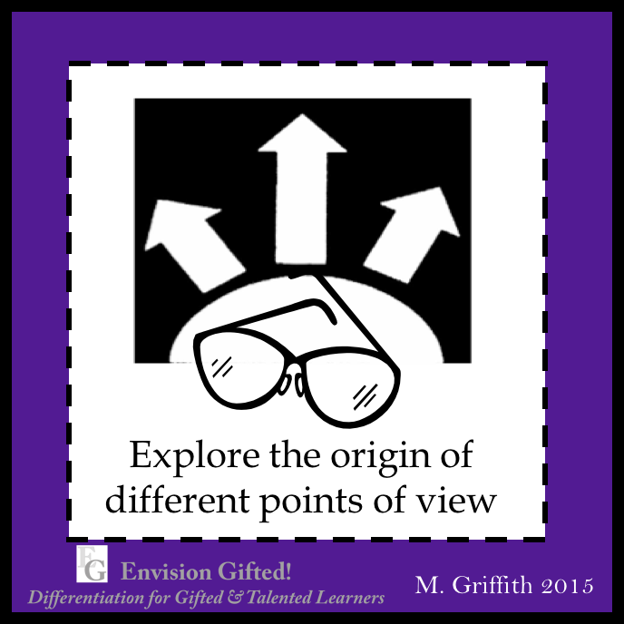 Envision Gifted. Origin of Perspectives