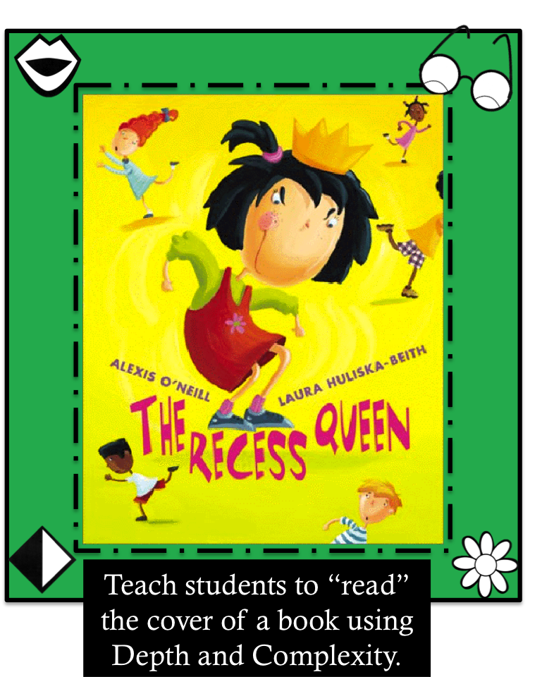 Image of Depth and Complexity applied to Mean Jean the Recess Queen