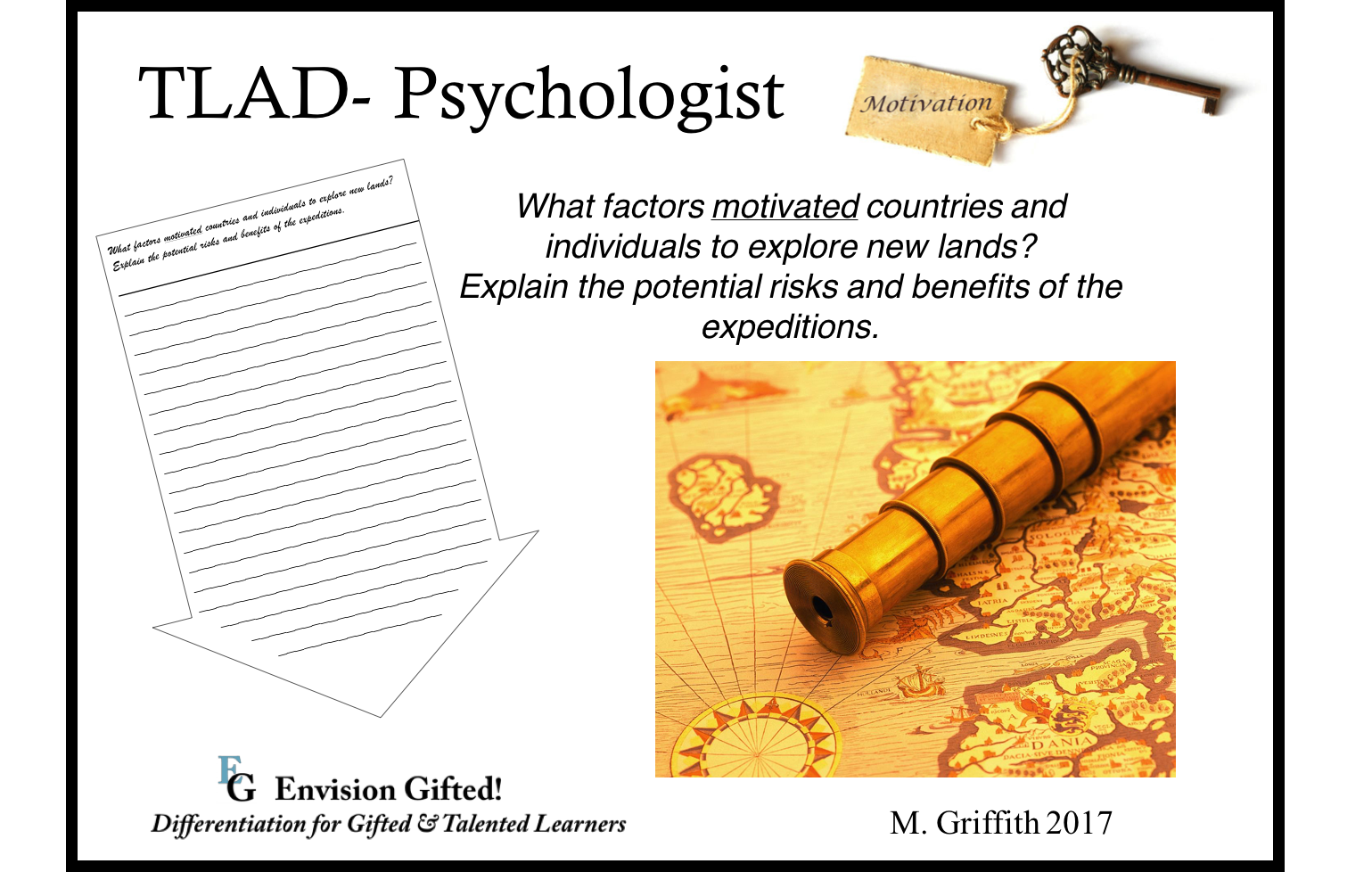 Envision Gifted. TLAD Psychologist Exploration